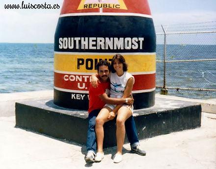 En el punto más al sur de los EEUU, Florida