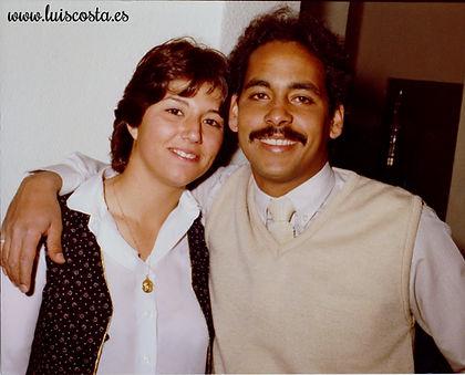Boda Civil Mayo 1983 de Cristina y Luis Costa