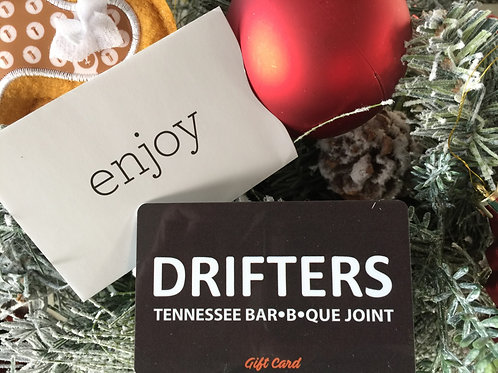 Drifters BBQ Gift Cards