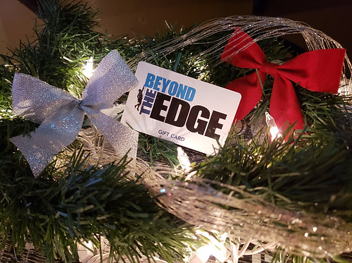 Beyond the Edge Gift Card