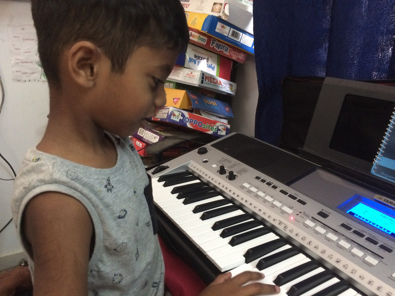 Home Classes for Keyboard