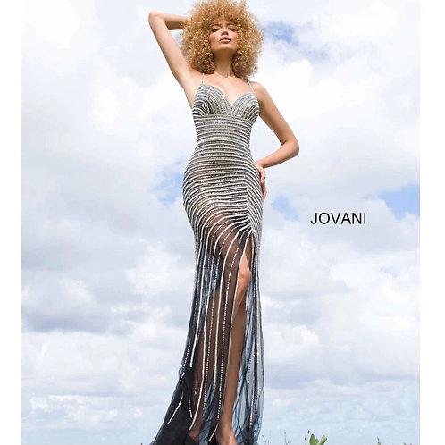 JOVANI Sexy Slit Gown