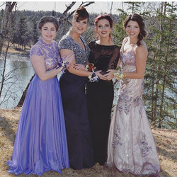 Gorgeous ladies💜 All in #fourthavenueboutique gowns _#sherrihill #SQUADGOALS #Prom #prom2k16 #alask