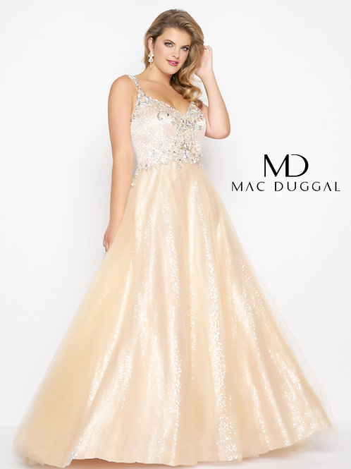 MD65037 NUDE/SILVER