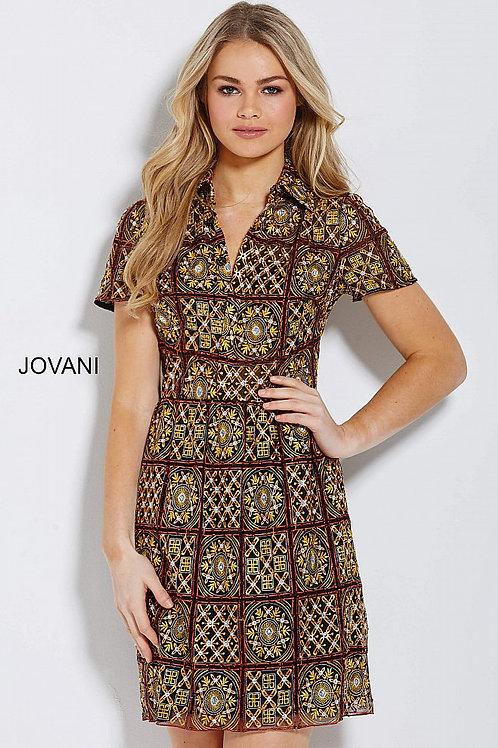 JOVANI M54859 MULTI SHORT