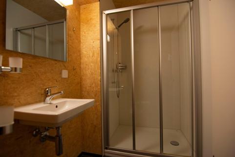 Bathroom Sust Lodge Andermatt