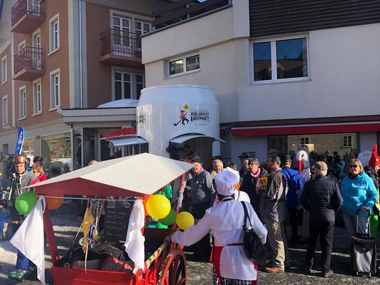 Jodlerfest wird in Andermatt erstmals sichtbar