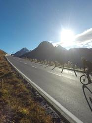 road biking