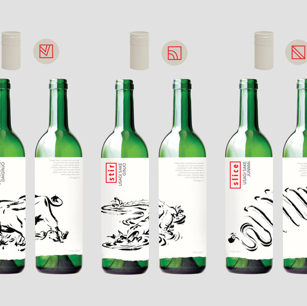 Sake Label/Package Design
