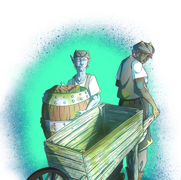 The Yearning Pit: Cart Haulers