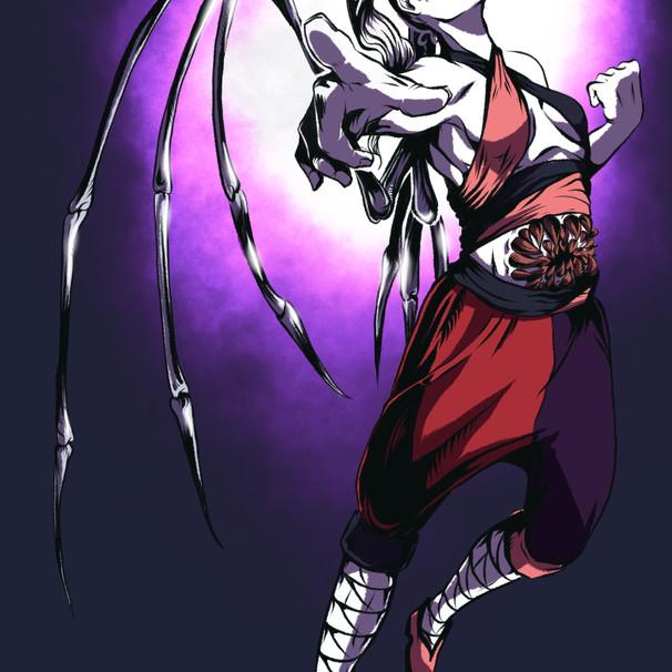 Character Design: Monk