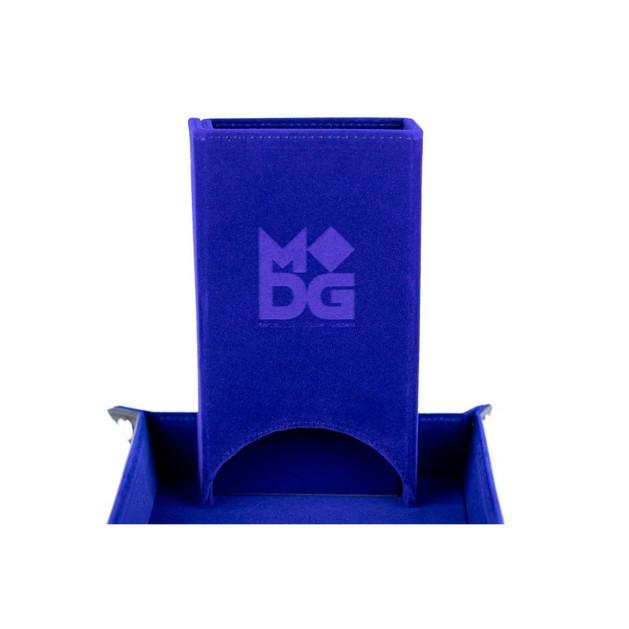 blue velvet dice tower