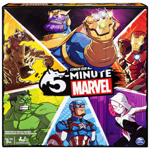 Take on the mantle of a superhero in our new game of the week - 5-Minute Marvel!