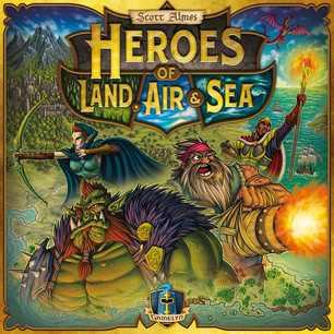 Explore, Expand, Exploit and Exterminate in Heroes of Land, Air & Sea!