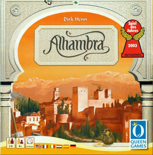 Alahambra - our latest game of the week!