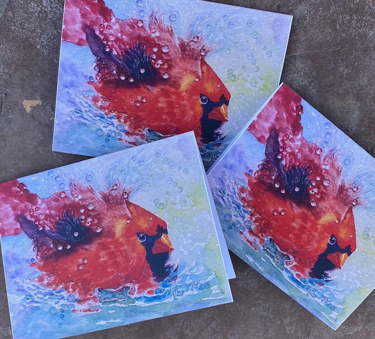 Cardinal Joy Cards