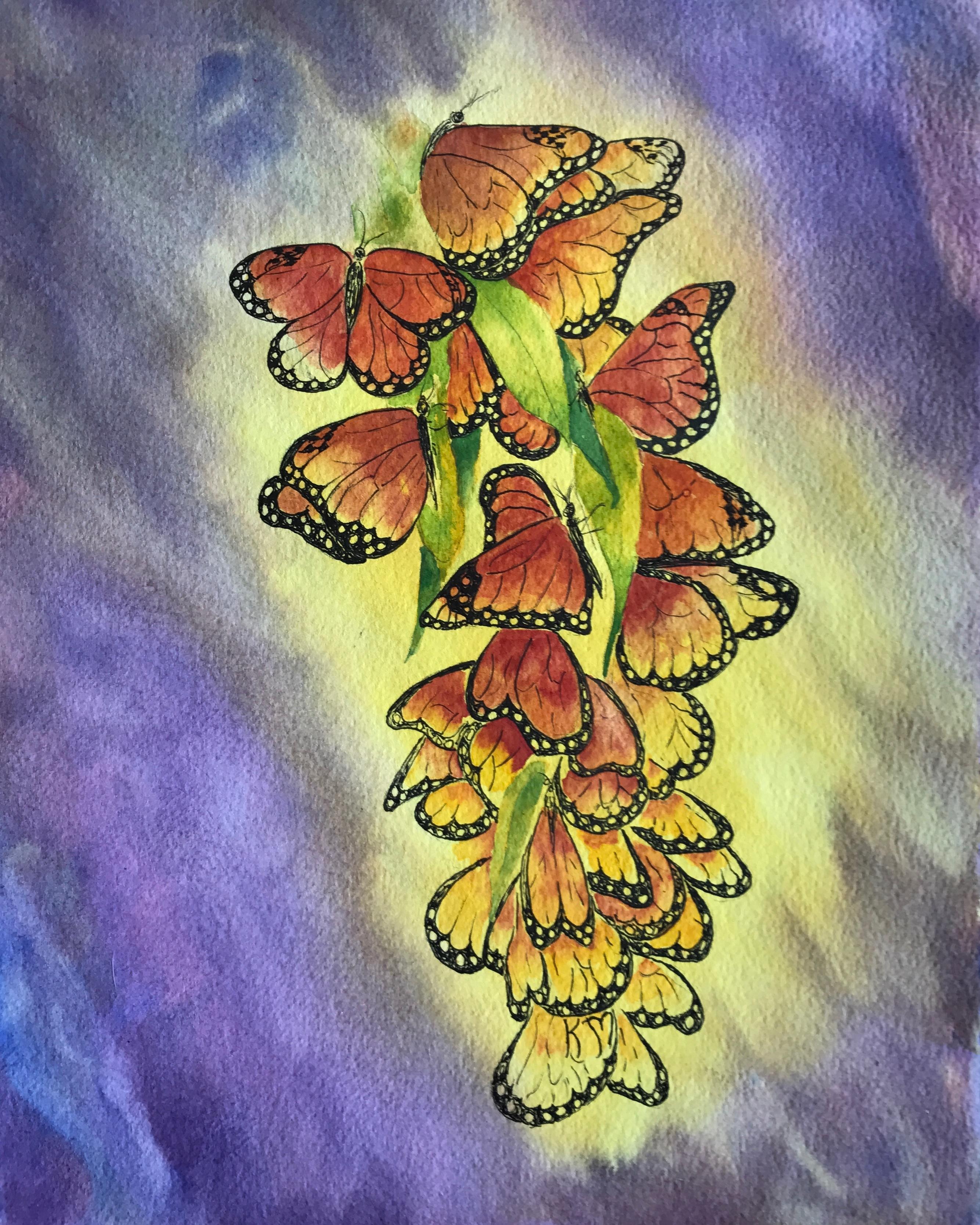 Monarch Glow