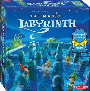 Find your way around the maze in our new game of the week -  The Magic Labyrinth!