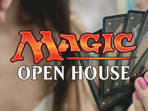 ✨OPEN HOUSE✨ - a FREE Magic event!