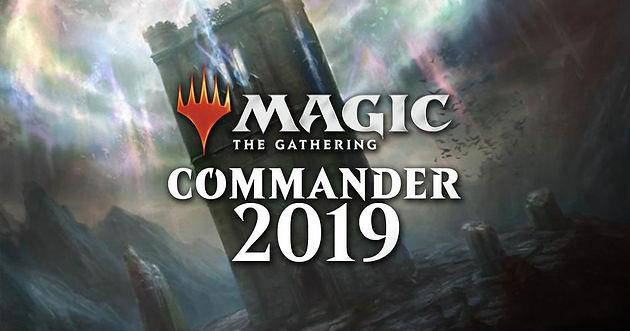 Commander 2019 - Blind Pre-orders