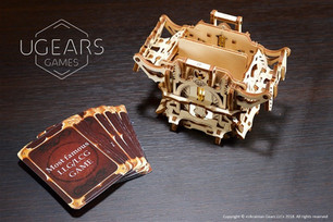 These fascinating, intricate wooden accessories for table-top RPG and card games are now available a