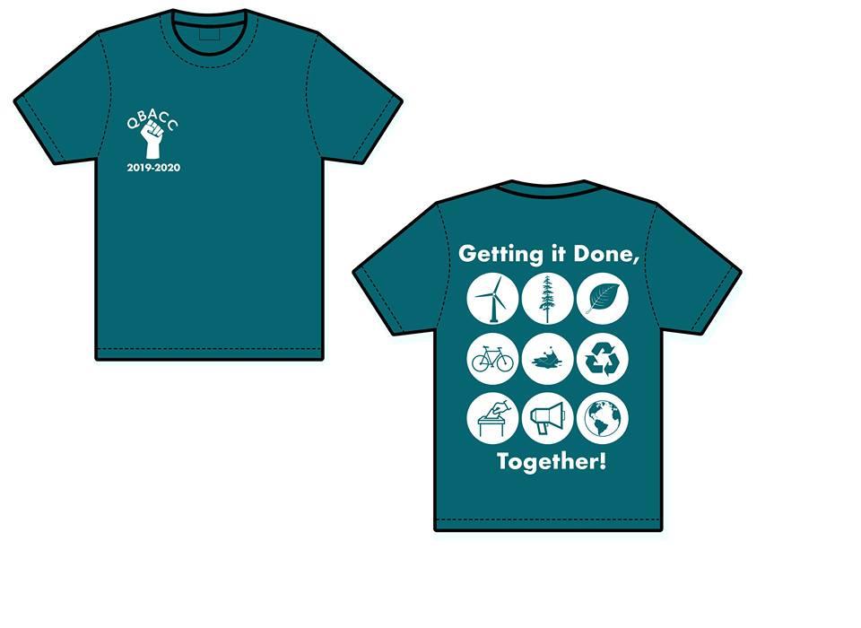 The new QBACC t-shirts