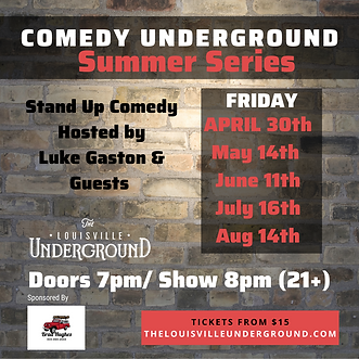 Comedy Underground Summer Series (IG).pn