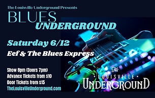Blues Underground_Eef & The Blues Expres