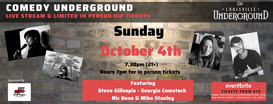 FB cover Comedy Underground oct 4th.png