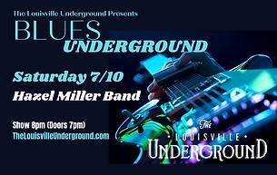 Blues Underground_ Hazel Miller Band (1)