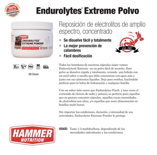 Endurolytes Extreme Polvo