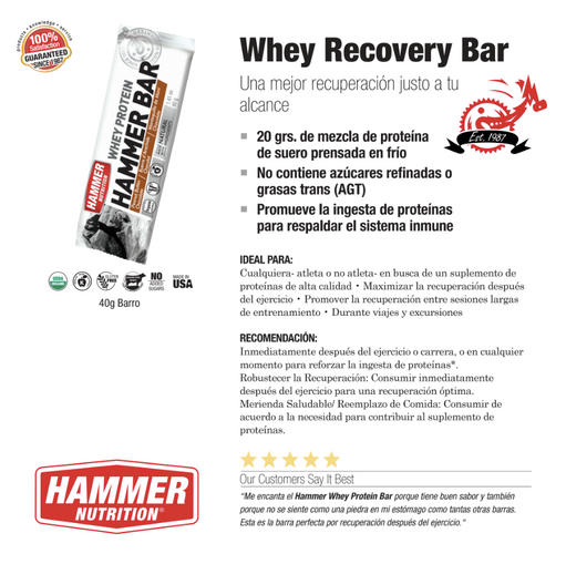Whey Recovery Bar