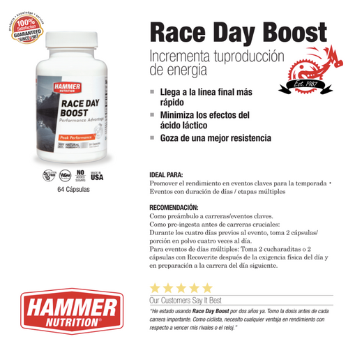Race Day Boost