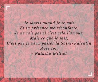 Vœux de Valentin