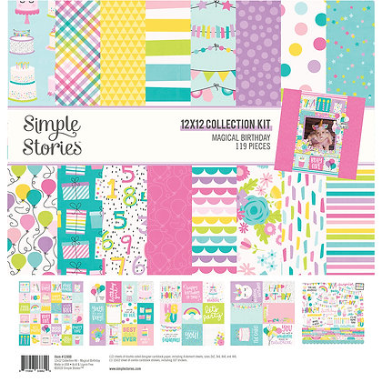 Magical Birthday 12x12 Collection Kit