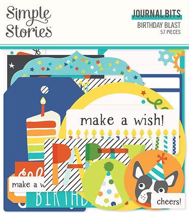 Birthday Blast Journal Bits