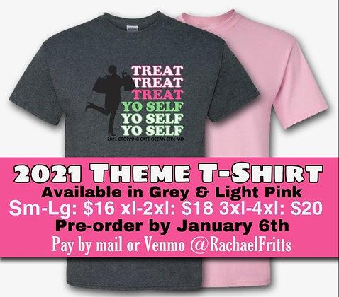 2021 OC Weekend, Theme T-Shirt