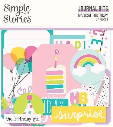 Magical Birthday Journal Bits