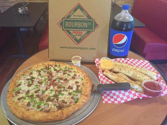 Bourbon Street Pizza - Opening August / September