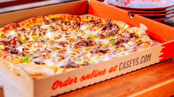 "Casey's Wins ""Best Walkerton Pizza Poll"" 2nd Year In A Row"