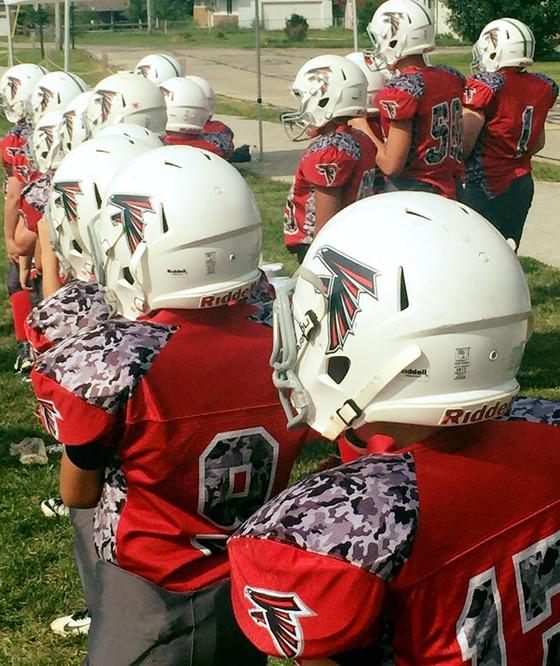 Future Falcons: John Glenn Youth Football Camp
