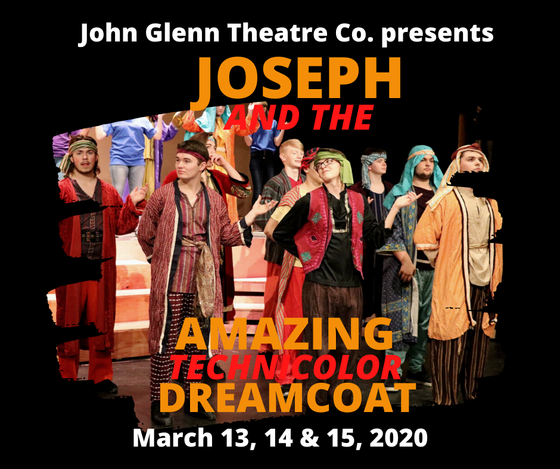 Joseph Wears Dreamcoat Out Of Egypt At John Glenn Theater Company