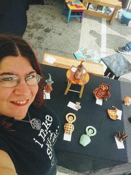 Angie Yelton The Heart And Soul Of Falcon Fire Ceramic Studio