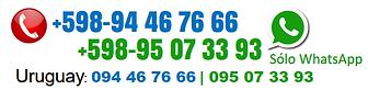 Teléfonos para WebSite de SAM, fondo bla
