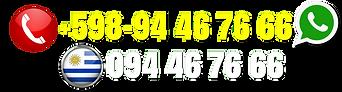 Número telefónico SAM, abril 2021, y en