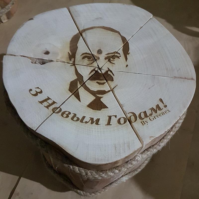 Вязанка дров с Александром Лукашенко