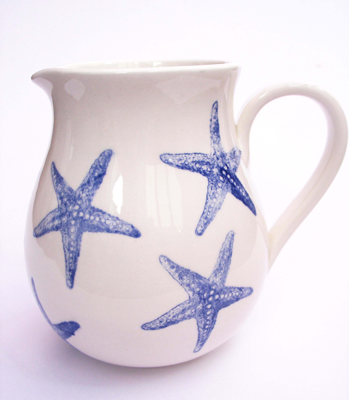 1 Litre Jug Starfish design