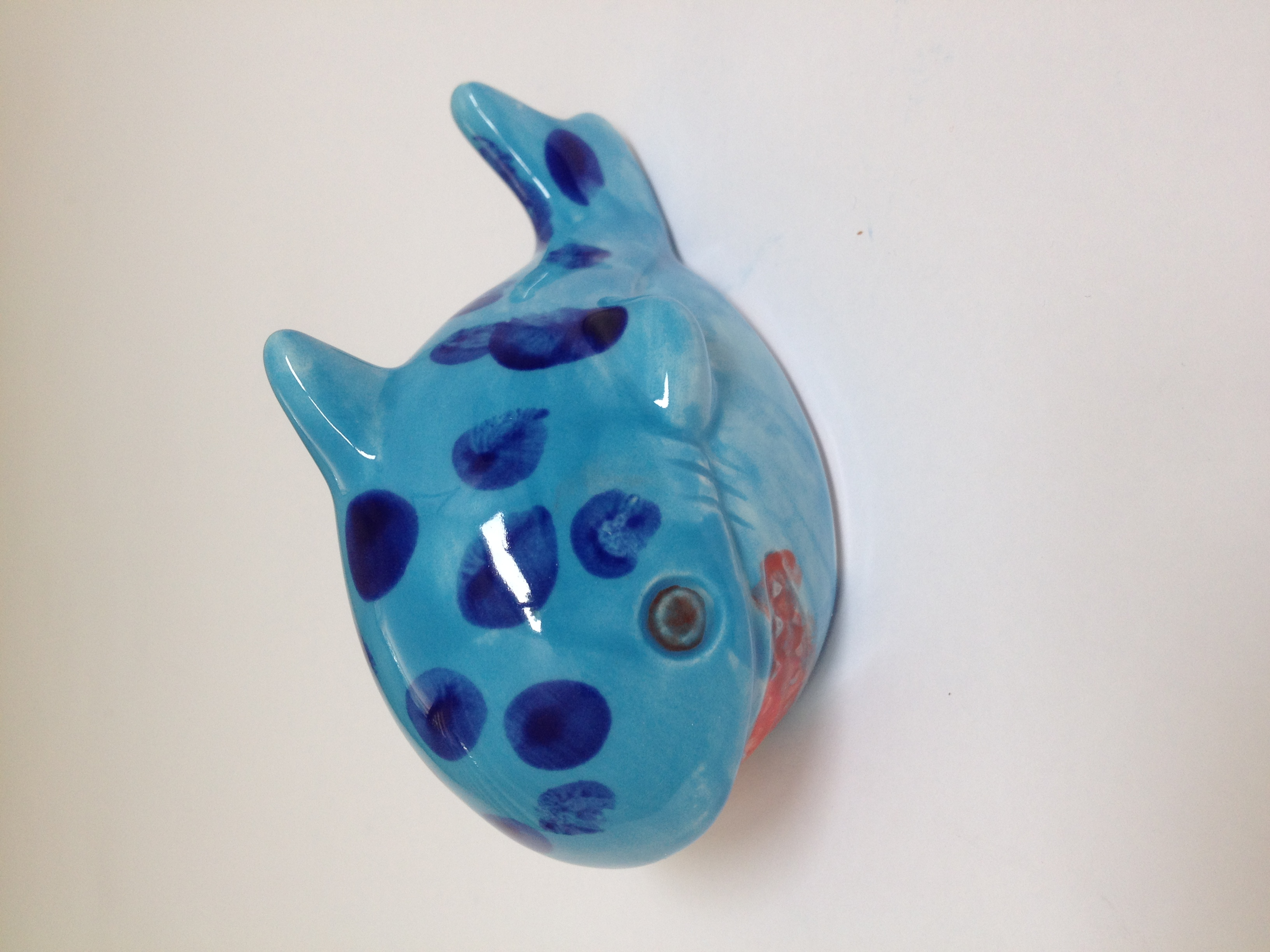 Handpainted whale