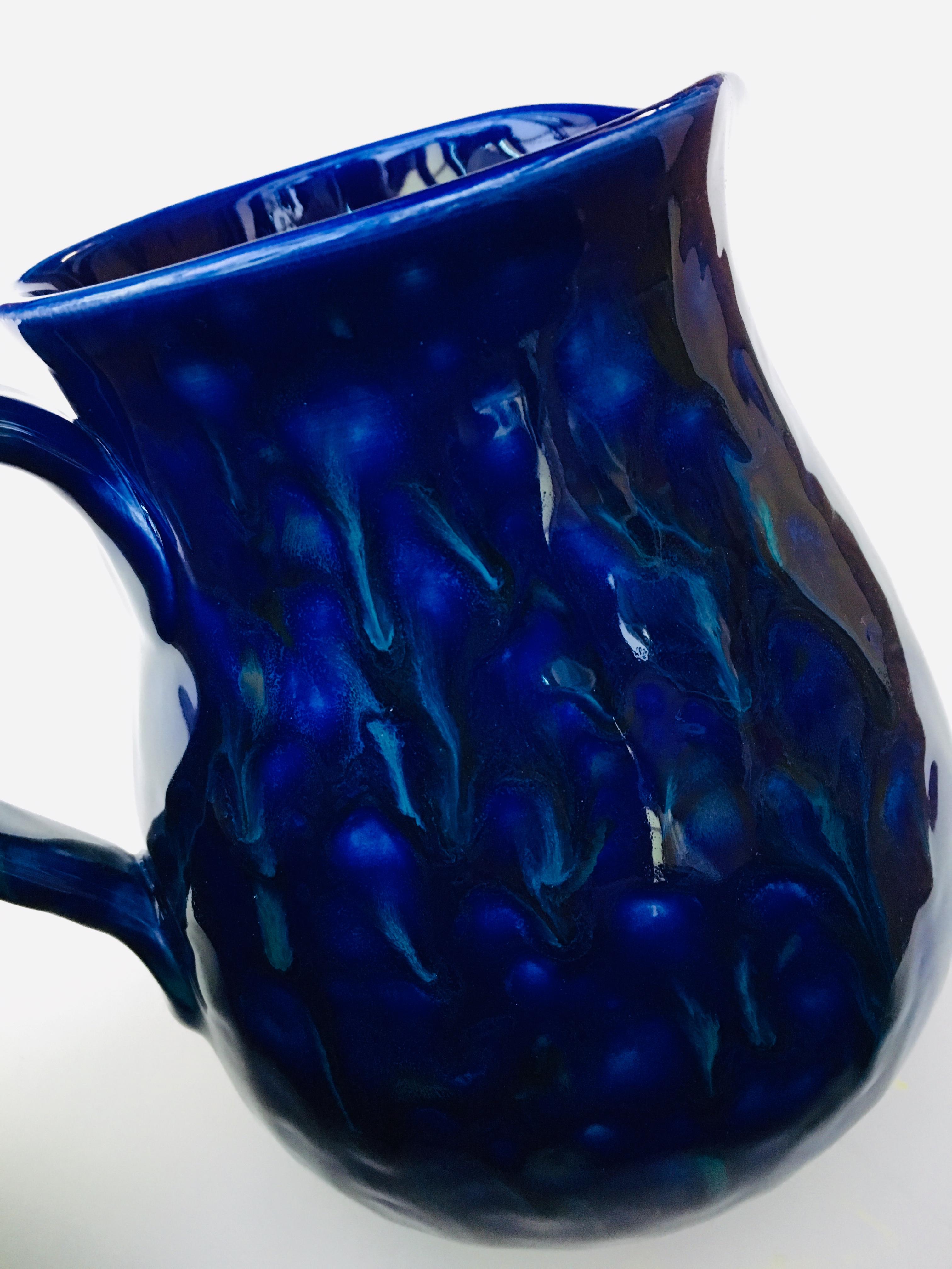 Crystal glaze 1 litre jug