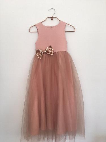 Little Lola Knit & Tulle Dress